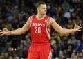 "D.Motiejūnas ketvirtame kėlinyje pelnė pusę ""Rockets"" taškų"