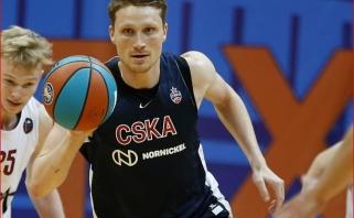 """Grigonis, Gudaitis ir Kuzminskas žaidė solidžiai, CSKA Kipre pasiekė revanšą prieš """"Zenit"""""""