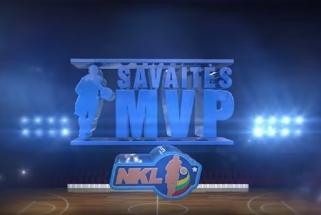 NKL savaitės MVP - galingą sugrįžimą surengęs D.Sirvydis