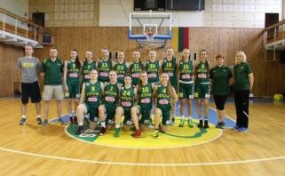 Vengrės darsyk nugalėjo Lietuvos aštuoniolikmetes