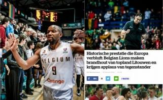 Belgai: istorinė pergalė prieš elitinę rinktinę, dabar galima svajoti drąsiau