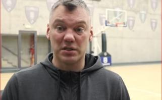 """""""Olympiakos"""" pokyčius įvertinęs Š.Jasikevičius nori greito ir agresyvaus """"Žalgirio"""""""