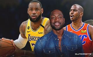 """D.Wade'as: jei Ch.Paulas pereis į """"Lakers"""", susijungs didžiausi krepšinio protai"""