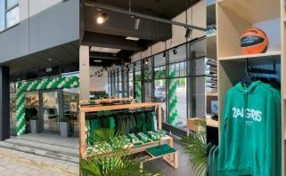 Duris atvėrė pirmoji Žalgirisshop parduotuvė Vilniuje