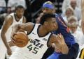 """""""Rockets"""" pelnė 50 taškų per kėlinį, """"Jazz"""" naujokas pranoko """"Thunder"""" žvaigždes"""