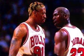 D.Rodmanas: LeBronas - vienas geriausių istorijoje, bet Jordanas - atskira kategorija