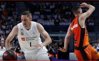 """""""Real"""" liko jėgų po finalo ketverto turnyro - įveikta Europos taurės laimėtoja """"Valencia"""""""