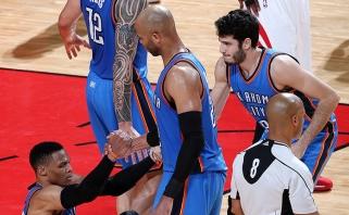 Debiutinis D.Sabonio bei įspūdingas R.Westbrooko sezonas jau baigėsi
