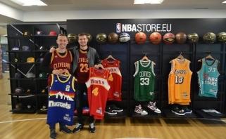 LSU studentai patirties sėmėsi NBA