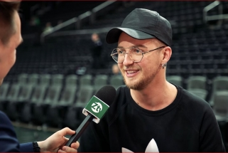 """""""Žalgirio TV"""" pakalbino pirmą kartą krepšinio rungtynėse apsilankiusį N.Bierancą"""