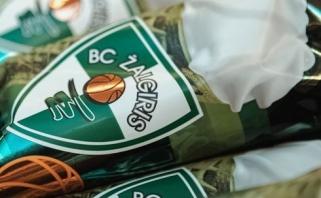 """Desertas """"Žalgirio"""" sirgaliams Lietuvoje ir užsienyje - pasirodė žaliai-balti ledai"""