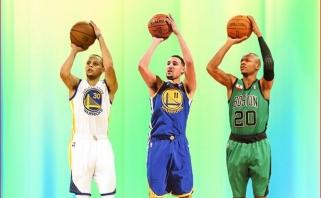 S.Baylessas įvardijo tris geriausius snaiperius NBA istorijoje