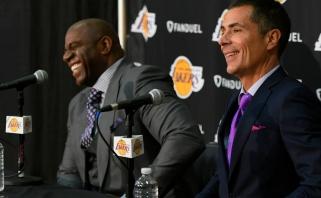 """""""Lakers"""" vadovas: įsigysime bent vieną žvaigždę, dirbame, kad susigrąžintume titulą"""