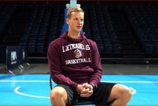 """Į Lietuvą grįžęs J.Gintvainis: """"Lietkabelis"""" yra aukštumoje, noriu įrodyti, kad pasiekiau jo lygį"""