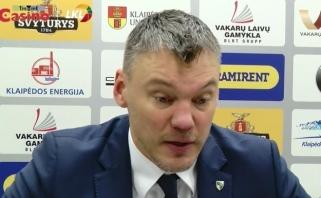 """Š.Jasikevičius: """"Žalgiriui"""" krepšinis darosi vis lengvesnis (D.Adomaičio komentaras)"""