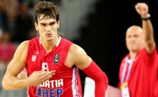 Kroatijos rinktinės dvyliktukas - su NBA žaidėjais ir gausybe naujokų
