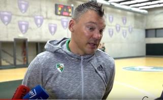 Š.Jasikevičius: turime labiau išnaudoti savo atletiškumą nei pernai (video interviu)