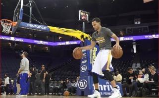 Trečiųjų NBA finalo rungtynių belaukiant: S.Curry pataikė 21 tritaškį paeiliui