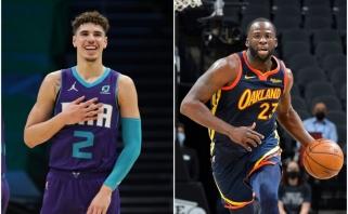 """NBA: LaMelo šou ir """"Warriors"""" viltis palaidojęs nepaaiškinamas Greeno sprendimas"""