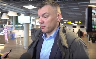 """Š.Jasikevičius: R.Kurtinaitis į """"Chimki"""" žaidimą įnešė naujovių"""