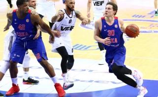 CSKA nepaliko vilčių VEF su A.Labucku