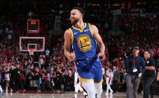 """Istorinis dominavimas: Portlande triumfavę """"Warriors"""" - penktame NBA finale iš eilės"""