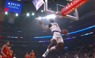 """NBA Top 10 viršūnėje - L.Jameso užbaigta ataka """"žemė-oras"""""""