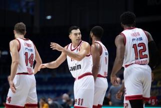 "Dramatiškas trileris Tel Avive baigėsi K.Slouko vedamo ""Olympiacos"" pergale"