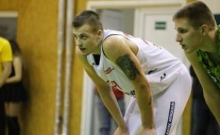 """""""Jonavos naujoka M.Pacevičius: naujoje arenoje norisi dovanoti sirgaliams pergales"""
