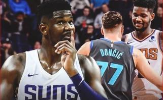NBA naktis: Dončičius užgožė Aytoną, rezultatyvus Hardenas krito prieš Antetokounmpo