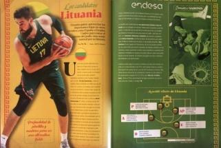 Lietuvos rinktinė ispanų akimis: piką pasiekęs JV, iš proto varantis Sabonis ir neatsakytas klausimas
