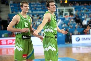 Slovėnijos rinktinė taip pat įvardino galutinę sudėtį