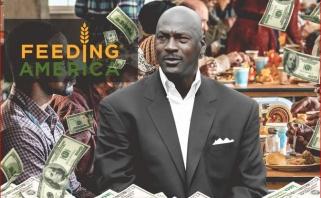 M.Jordanas paaukojo 2 mln. dolerių kovai su badu JAV