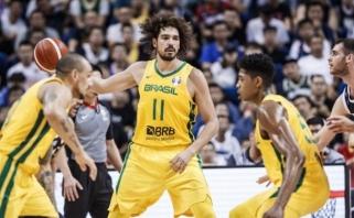 Brazilų krepšinio veteranas grįžta rungtyniauti į NBA