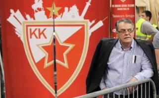 """""""Crvena Zvezda"""" prezidentas: panašu, kad Eurolygoje bus įvesta algų kepurė"""
