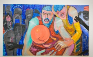 Tilpo į paveikslo rėmus: J.Valančiūnas, anties kojelės ir avijaučio galva