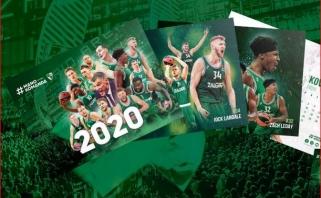 """""""Žalgirio"""" 2020 metų kalendorius - jau prekyboje!"""