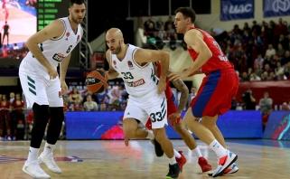"""CSKA nukovęs """"Panathinaikos"""" lyderis - Eurolygos savaitės MVP"""