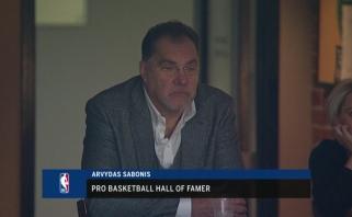 Tėčio Arvydo akivaizdoje žibėjęs Sabonis sužaidė vieną rezultatyviausių sezono mačų