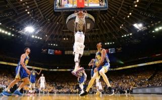 """45 Duranto taškai neišgelbėjo čempionų nuo antrojo pralaimėjimo """"Clippers"""""""