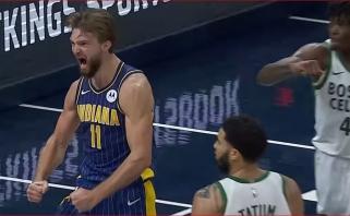 Sabonio pergalingas metimas - NBA gražiausių momentų trejetuke