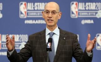 A.Silveris sieks, kad pusė NBA teisėjų būtų moterys, taip pat nori leisti žaisti 18-mečiams