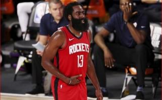 """Sezono startą dėl COVID-19 praleidusi """"Rockets"""" į Portlandą išvyko be šešių krepšininkų"""