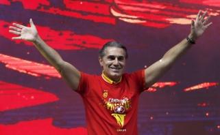 S.Scariolo tariasi su Ispanijos krepšinio federacija dėl kontrakto iki Paryžiaus olimpiados