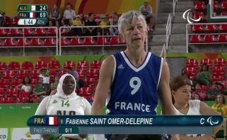 Rio parolimpiados krepšinyje – žilos prancūzės šou