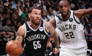 """""""Nets"""" neteko Hardeno, bet ir su buvusiu CSKA lyderiu aplaužė ragus """"Bucks"""""""