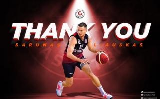 Š.Vasiliauskas atsisveikino su Turkijos ekipa