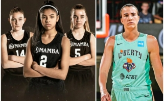 Netradicinėje WNBA naujokių biržoje – simbolinis šaukimas žuvusiai K.Bryanto dukrai