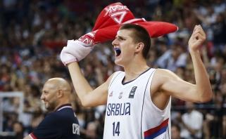 """Serbijos superžvaigždė N.Jokičius pasakė """"taip"""" rinktinei"""