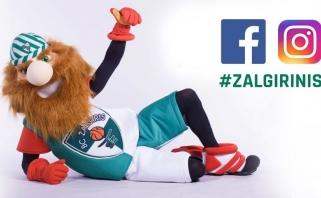 """""""Žalgirio"""" talismanas Žalgirinis atkeliauja į """"Facebook"""" ir """"Instagram"""" tinklus!"""
